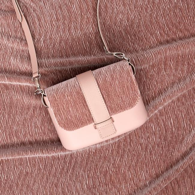 Основа сумки O pocket Рожевий дим