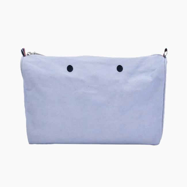 Підкладка O bag beach mini на блискавці Блакитний