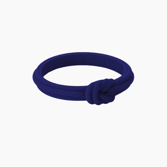 Браслет O bracelet knot тонкий Ірис