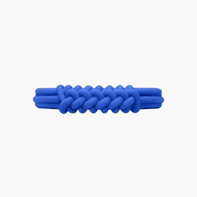 Браслет O bracelet knot широкий Сапфір