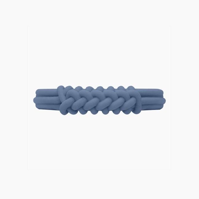 Браслет O bracelet knot широкий Небесно-Блакитний