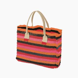 Жіноча сумка O bag cabas mini рафія Гренадін