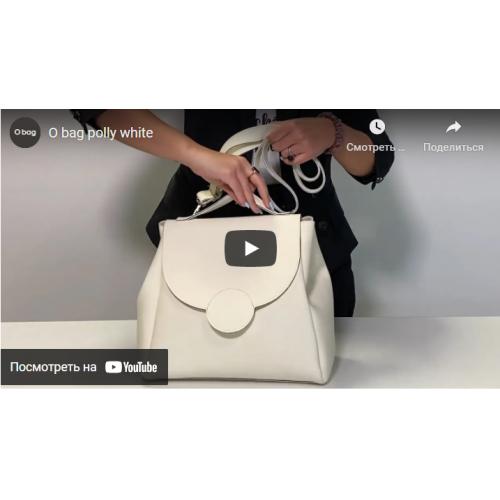 Жіноча сумка O bag Polly Бісквіт OBAGBPA5TES20132-SHOUE001TES20132