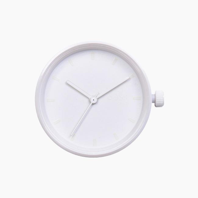 Циферблат O clock great Tone on Tone Smalto білий