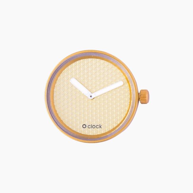 Циферблат O clock Pave золото