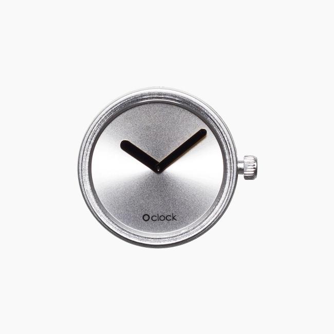 Циферблат O clock Gold and Silver срібло