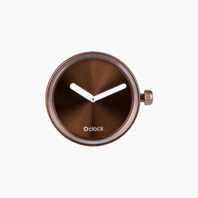 Циферблат O clock Gold and Silver Бронза