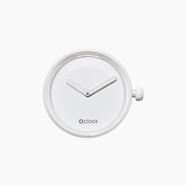 Циферблат O clock Tone on Tone білий