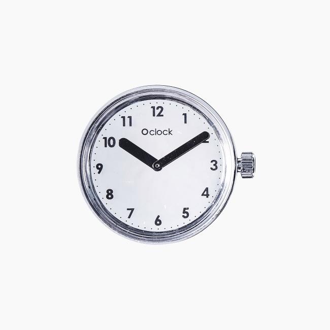 Циферблат O clock Numbers Дзеркальний OCLKD001MES07004