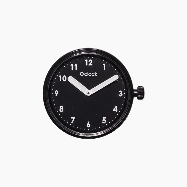 Циферблат O clock Numbers чорний