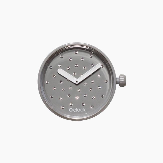 Циферблат O clock Crystal Сірий