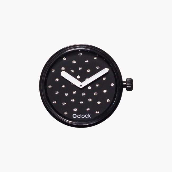 Циферблат O clock Crystal чорний