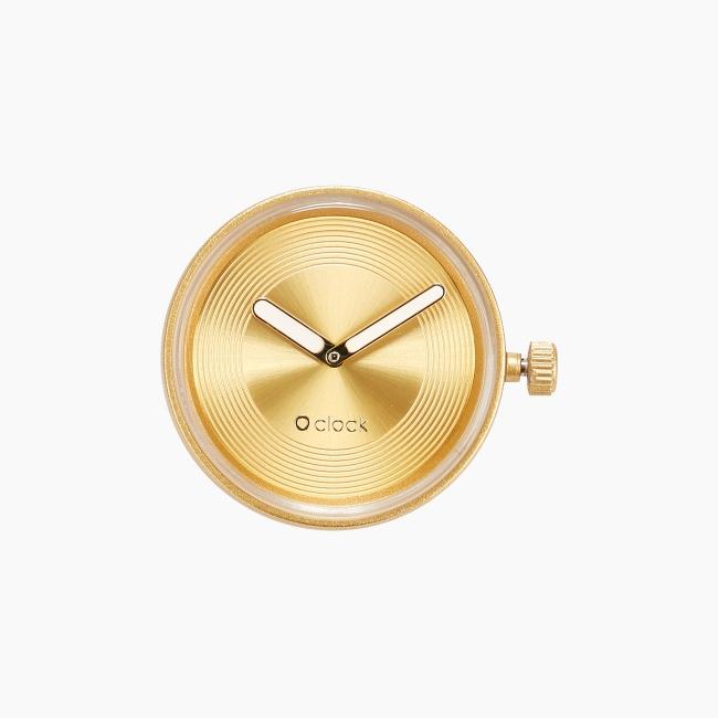 Циферблат O clock Groove Lux Золото