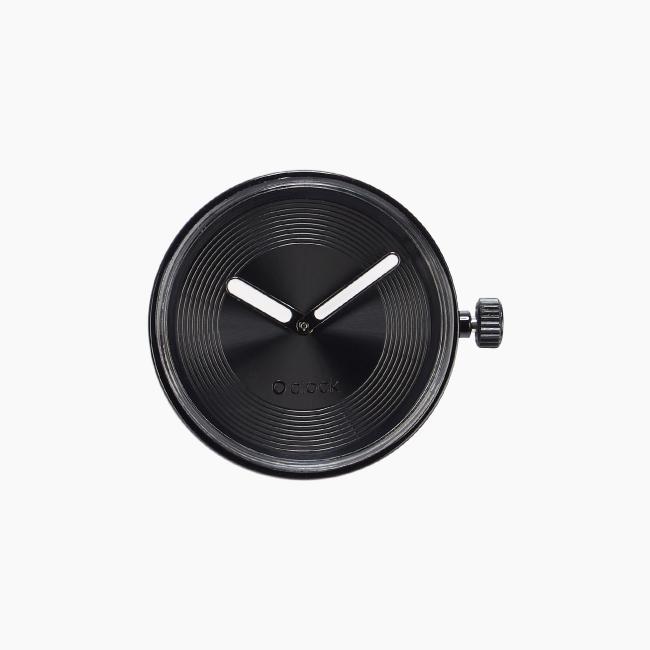 Циферблат O clock Groove Soleil чорний