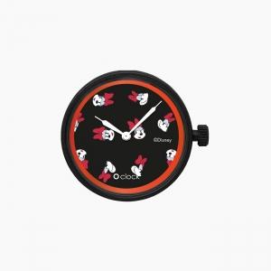 Циферблат O clock All over Disney Чорний