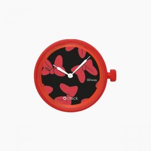 Циферблат O clock All over Disney Червоний