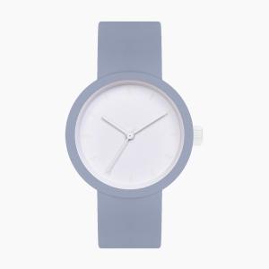 O clock great | ремінець небесно-блакитний, циферблат Tone on Tone Smalto білий