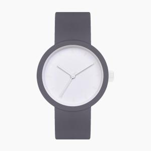 O clock great | ремінець графіт, циферблат Tone on Tone Smalto білий