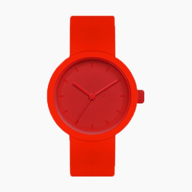 O clock great | ремінець червоний, циферблат Tone on Tone Smalto червоний
