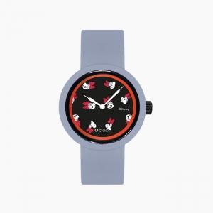 O clock | ремінець небесно-блакитний, циферблат All over Disney чорний