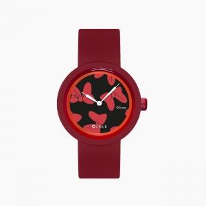 O clock | ремінець рубін, циферблат All over Disney червоний