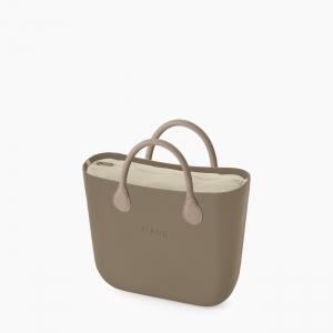 Жіноча сумка O bag mini   корпус рок, підкладка текстиль, короткі ручки