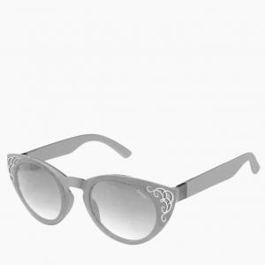 Окуляри O sun | оправа Colors сіра, лінзи Butterfly сірі, дужки сірі