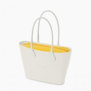 Жіноча сумка O bag urban | корпус лате, підкладка лайкра, довгі ручки tubular