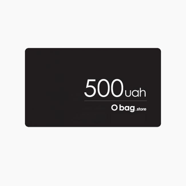 Подарунковий сертифікат номіналом 500 грн.