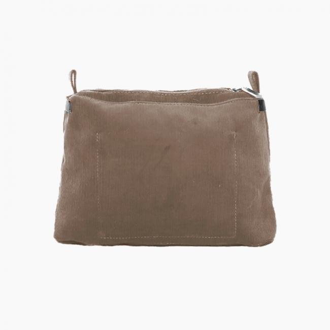 Підкладка O bag glam вельвет Бежево-сірий