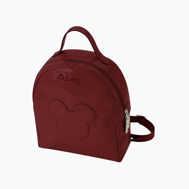 Рюкзак O bag Ivy Mickey Head Рубі ред