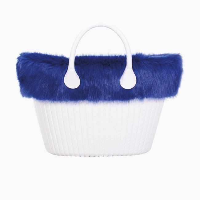 Манжет O bag knit лисиця Синій