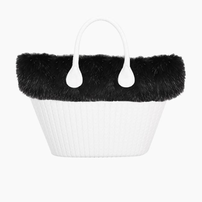 Манжет O bag knit mini їжак Чорний