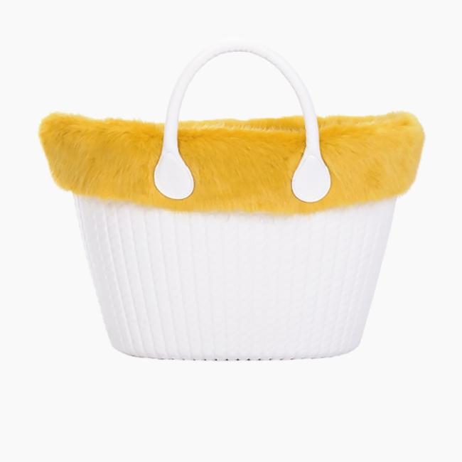 Манжет O bag knit mini лисиця Карі