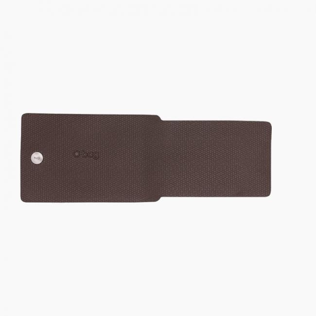 Накладка для гаманця O hug. men Flat Шоколад