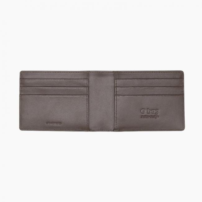 Основа гаманця O hug. men Flat Темно-коричневий OHUGI005PES00084