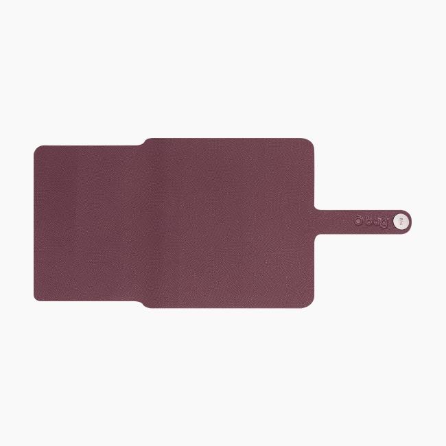 Накладка для гаманця O hug. tiny Бордо