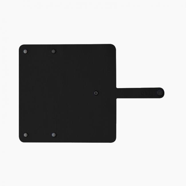 Накладка для гаманця O hug. women текстурна Чорний