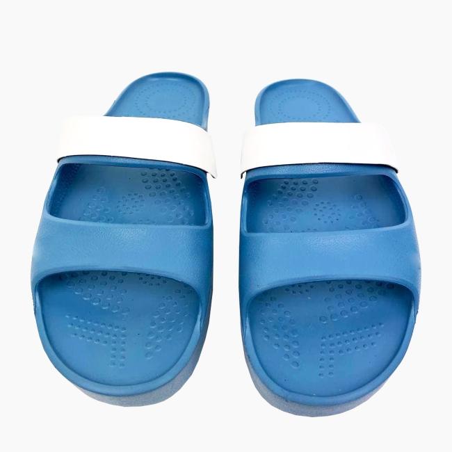 Декоративна накладка на Шльопанці O shoes базова Білий
