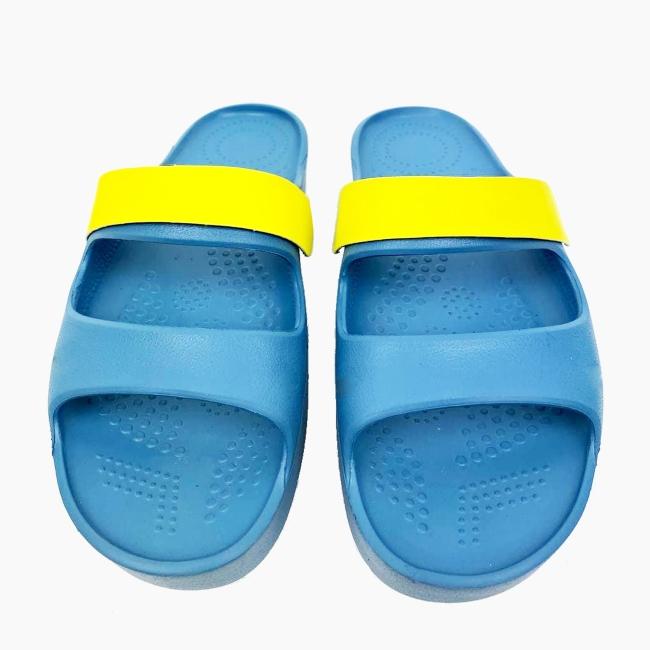Декоративна накладка на Шльопанці O shoes базова Лайм