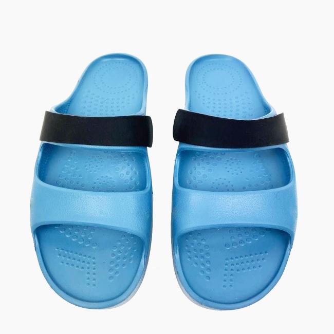Декоративна накладка на Шльопанці O shoes базова Чорний