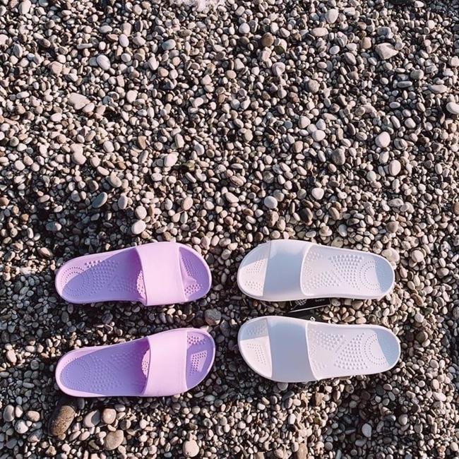 Шльопанці O slippers Орхідея
