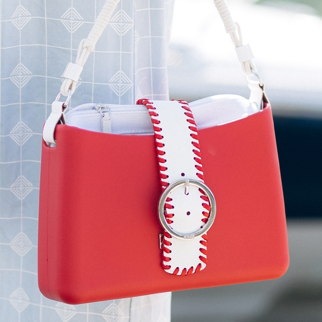 Підкладка O bag glam текстиль Білий