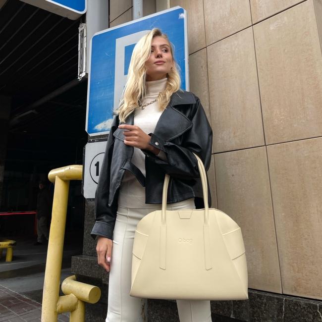 Жіноча сумка O bag Unique Пісок OBAGB977EVS00078