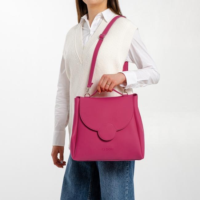 Жіноча сумка O bag Polly Гренадін OBAGBPA5TES20752-SHOUE001TES20752