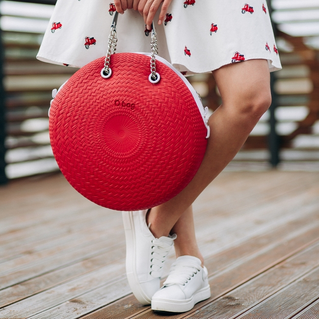 Підкладка O bag twist mini текстиль Білий