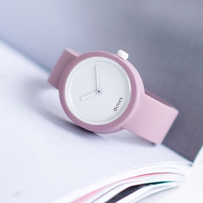 Ремінець O clock Рожевий дим