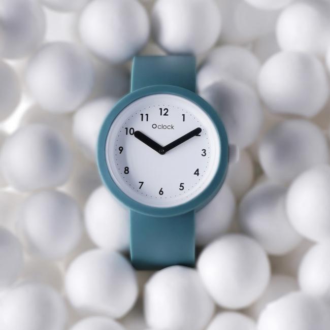 Циферблат O clock Numbers білий