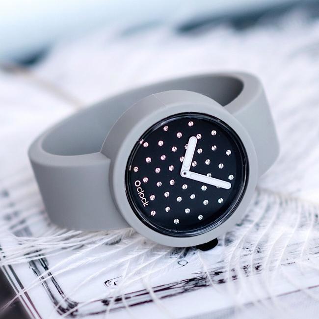Ремінець O clock Світло-сірий