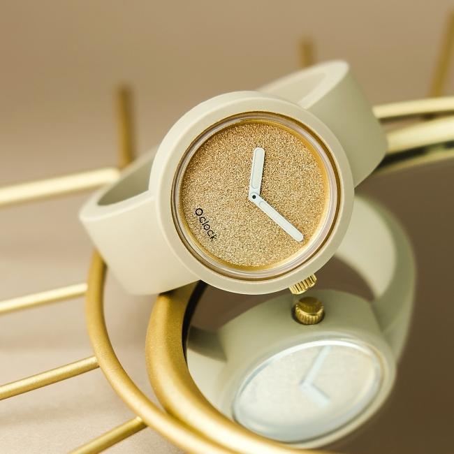 Циферблат O clock Glimmer Золото